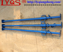 Light duty adjustable acrow prop scaffold for formwork post
