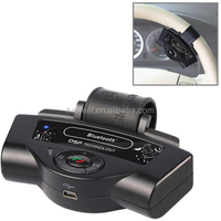 High quality new Steering Wheel Car Bluetooth Hands-free Kit with Car Charger