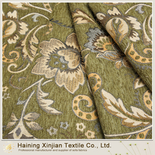 100% Poly classical design jacquard upholstery fabric
