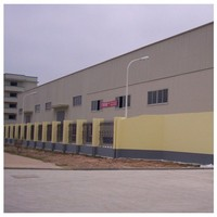 Used construction design steel structure warehouse/workshop/hotel building