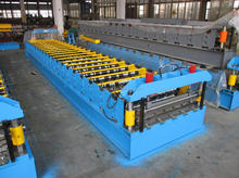 corrugated steel sheeting roll making machine, zinc steel plate roof tile making machine