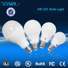 Green energy 5W E27 B22 270 degree LED Light Bulb made in China