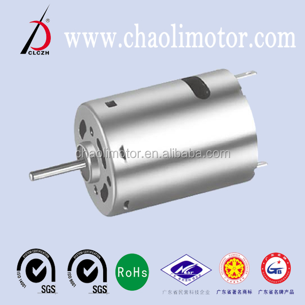 37.8mm 6v 18000rpm CL-RS380SH DC Motor for handle massager,penlight,circular bubble level,circular bubble level vial