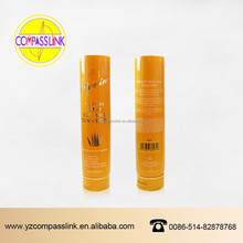 laminated cosmetic plastic packaging tube with hot stamping