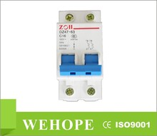 DZ47-63 Miniature Circuit Breaker,air circuit breaker