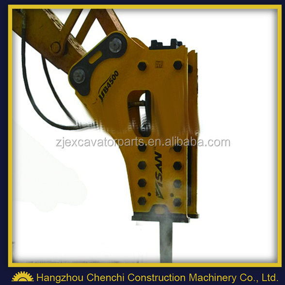 high frequency hydraulic breaker hammer JSB4500S for 36-45 ton excavator
