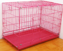 small steel wire cage for raabit dog cat bird