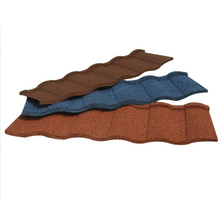 Hot Sale in Africa Colorful Stone Coated Metal Roof Tile, Clear Building Materials Steel Roofing Tiles