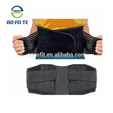 Wholesale Customized Logo Printing Back Support Belly Fat Waist Belt for Men Women