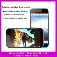 ZOPO ZP700 MTK6582 1.3GHZ Quad Core RAM 1GB ROM 4GB Android 4.2 Original Unlocked Smartphone