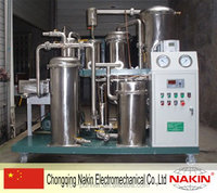 NAKIN-TPF-1 Waste Edible (sunflower) Oil Filtration/Restoration/Recycle Equipment