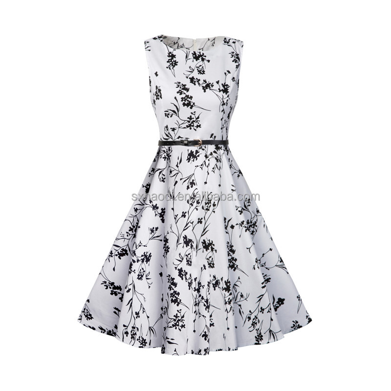 HD-94 New Women 50's 60s Vintage Rockabilly Swing A-Line Eveing Dresses