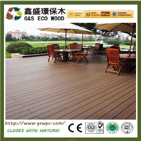 Water Resistance outdoor for Veranda Wpc flooring high quality terrace wpc decking