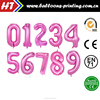 40inch Number Balloon Helium Foil Pink