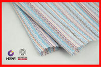 China Cotton Jacquard Stripe Fabric For Towel