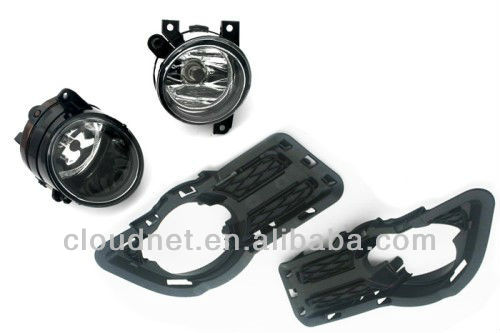 Front Fog Light & Grille Kit For VW Volkswagen Tiguan