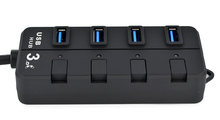 Manufacture Usb 3.0 Hub 4 Port with Led Indication