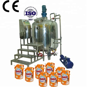 Factory Price liquid soap making machine price