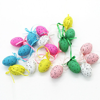 Assorted colors easter eggs for Easter decoration
