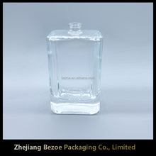 China well saled bulk empty clear perfume bottle designers
