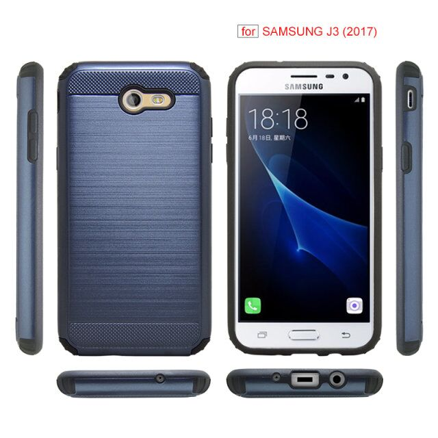 DFIFAN Shockproof Cell Phone Case for Samsung J3 2017 Mobile Cover for Galaxy J3 2017