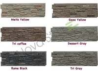 Fireproof exterior wall tiles cheap stone veneer