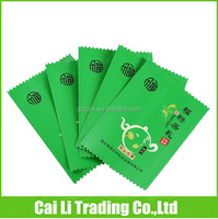 food grade aluminium foil back sealed small tea bags