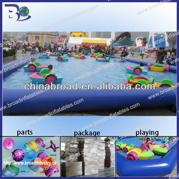 Durable PVC inflatable swimming pool,inflatable pool,water pond