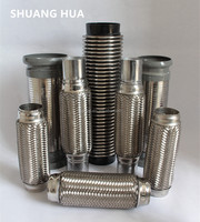 1 inch stainless flexible exhaust flexible pipe for generator
