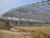 pre engineer stel structure building wall made by steel structure