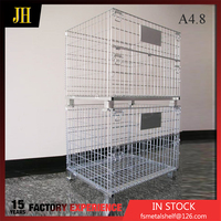Wholesale Products China Foldable Rolling Metal Storage Cage