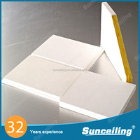 Soundproofing material decorative plastic ceiling tiles