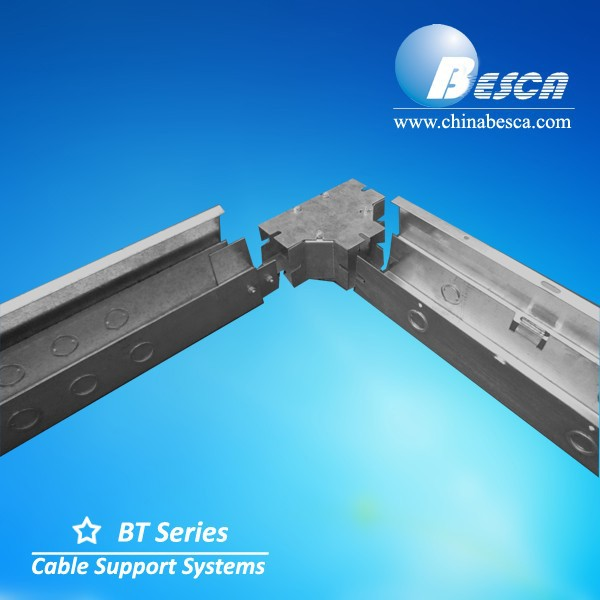 Only One factory with UL Hinged Wireway Cable Trunking Anti-Rust Cable Tray with Cover in China - UL Number E465156 Besca