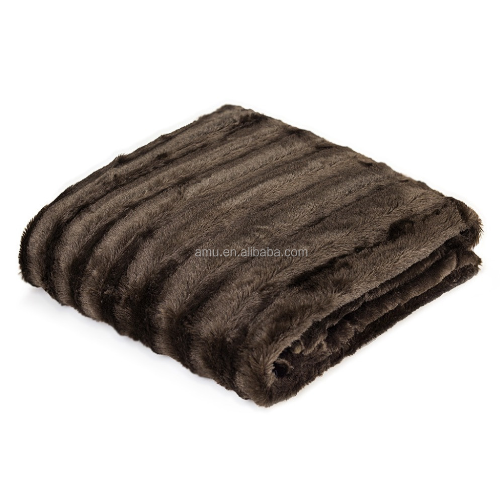 blanket with 100% wool mink blanket acrylic adult