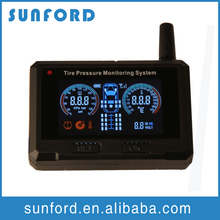 Effective tyre safety indicator TPMS monitor wireless pressure sensor external truck tpms sensor