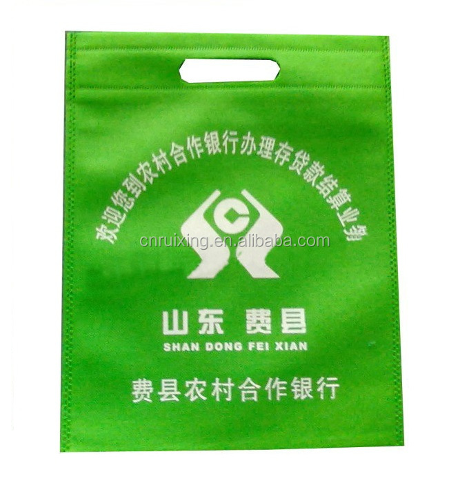 machine printing cheap non woven shopping bag