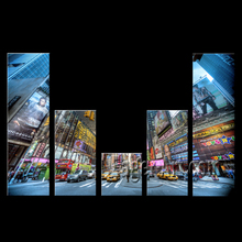 New York Street View Prints art on canvas