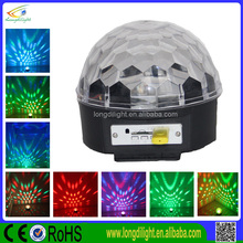 music led round ball christmas lights ,6*3w RGBWA+UV usb disco ball with remote controller