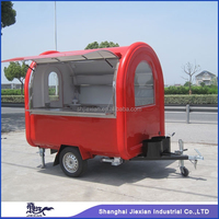 JX-FR220B Colorful street mobile food cart/fast food truck /food trailer