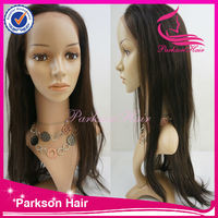 Glueless lace front wig Vietnamese virgin #6 human hair curly lace wig making supplies