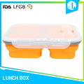 China supplier custom hot selling cheap silicone school lunch box