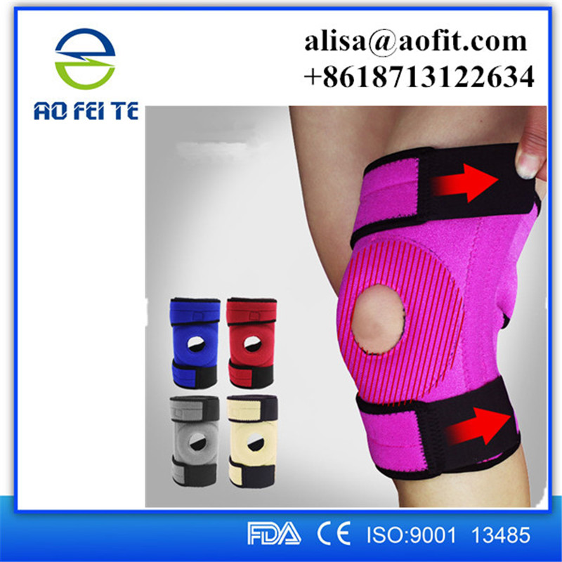 Losing Weight for secure adjuatable knee support