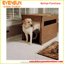 High Quliaty Wicker Pet House Rattan Dog Cages