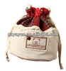 new design mini drawstring jute bag