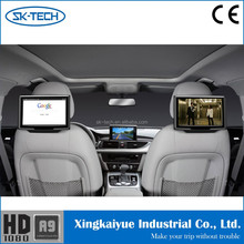 Hot-sell AV input wifi 3g dongle 10.1 inch android 1280*800 resolution Toyota headrest dvd player