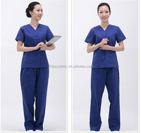 Waterproof Beautiful Cheap New disposable short sleeve uniform Resist blood Isolation Gown/Surgical Gown