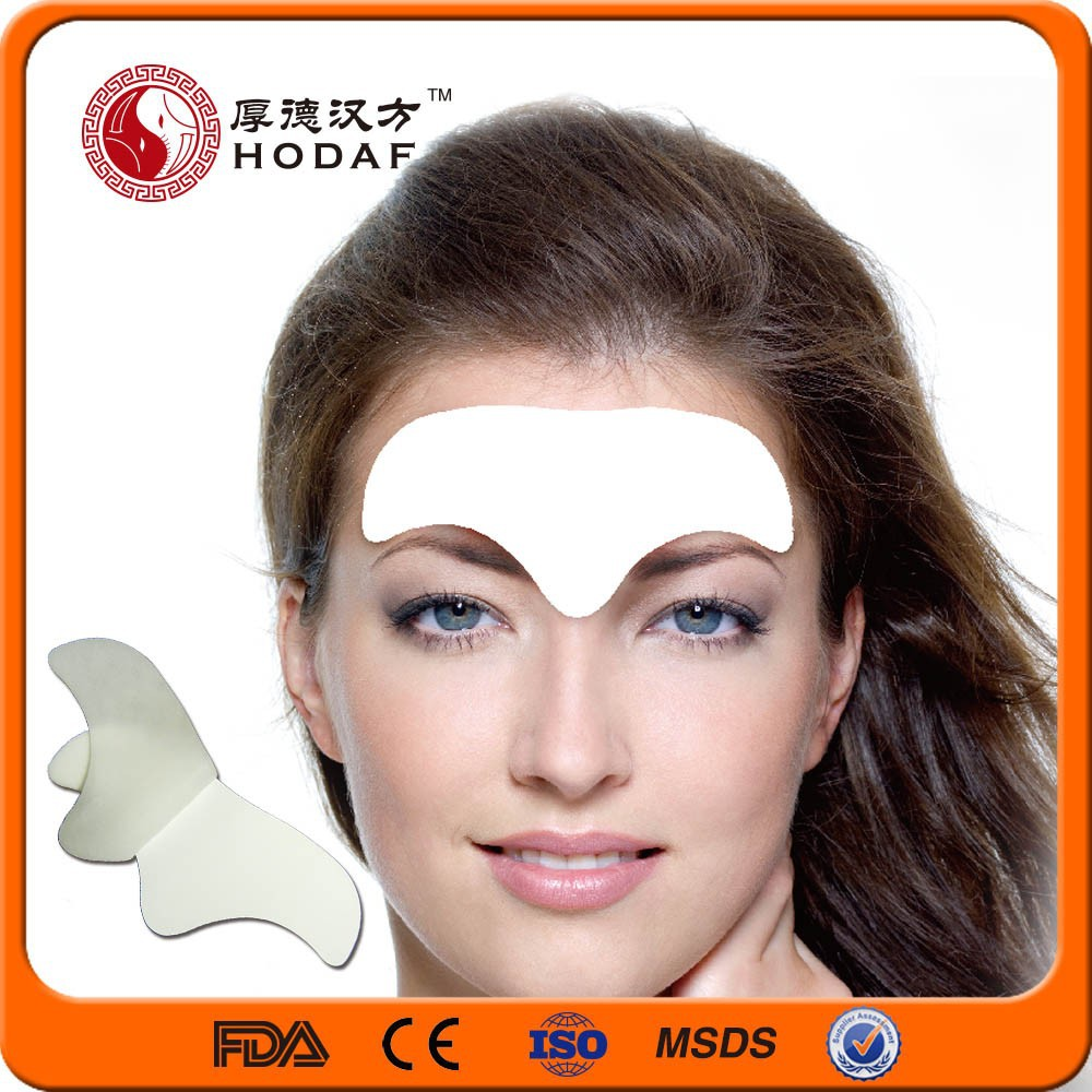 2015 new relieving aging symptoms anti-wrinkle forehead pad