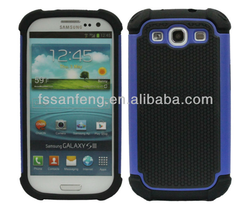 High quality bumper phone case for galaxy s3 I9300