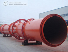 Good performance Sand Rotary Dryer Machine for silica sand, wet sand
