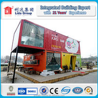 20ft combined luxury container house hotel